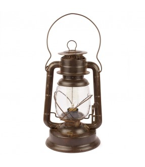 Lampe pétrole électrifiée