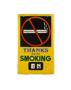 Plaque no smoking