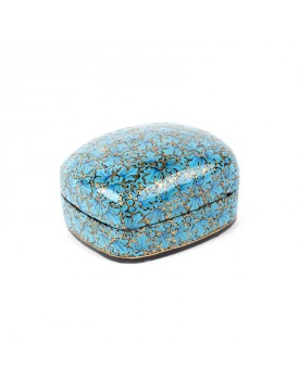 Boîte cachemire turquoise