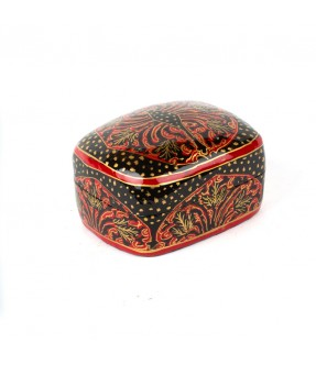 Red and black cashmiry box