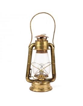 Lampe pétrole laiton électrifiée