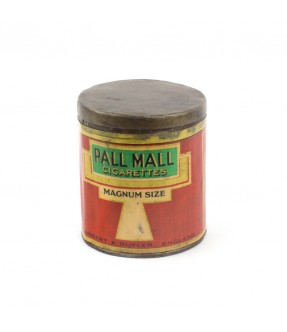 pall mall - old iron cigarette box