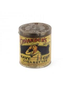 Boîte ancienne cigarette cavanders