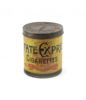 state express - old iron cigarette box