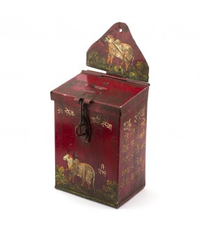 Iron money box