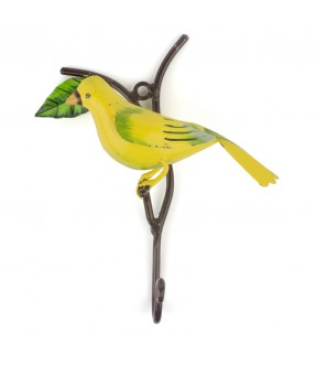Yellow bird hook