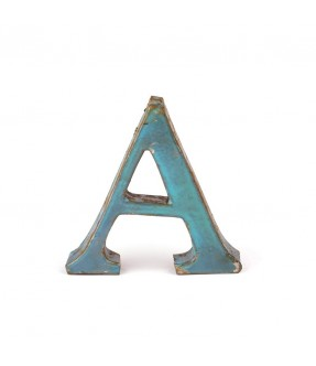Iron letter A