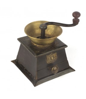 old coffee grinder