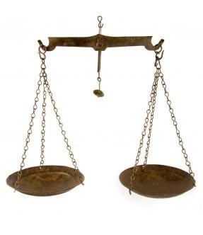 old iron balance