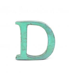 Iron letter D