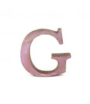 Iron Letter G