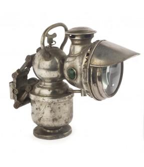 Ancien phare de moto acetylène