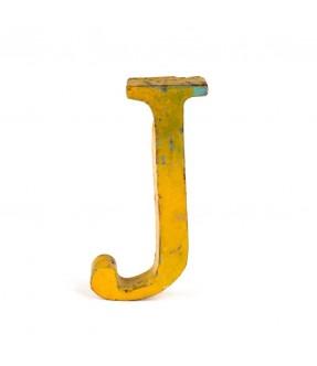 Iron letter J