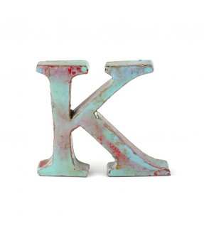 Iron letter K