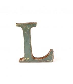 Iron letter L