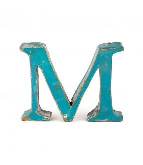 Iron letter M