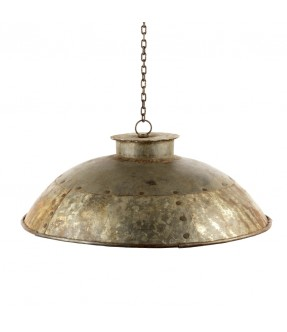 Industrial iron hanging lamp