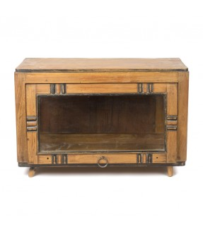 old showcase - teak wood - 2