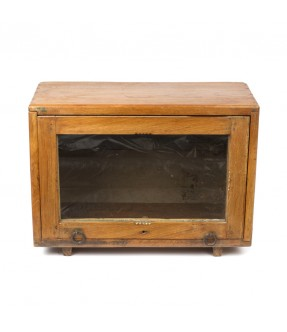 old showcase - teak wood - 4