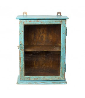 old showcase - teak wood - 5
