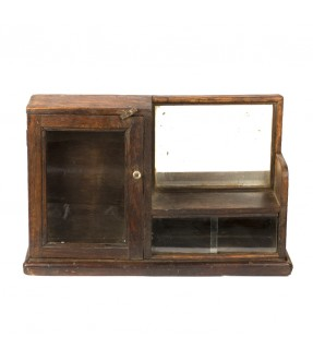 old showcase - teak wood - 6