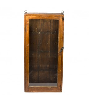 old showcase - teak wood - 9