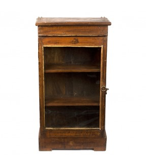 old showcase - teak wood - 13