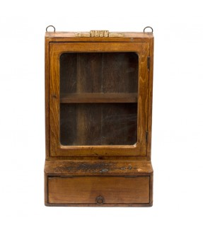 old showcase - teak wood - 14