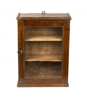 old showcase - teak wood - 15