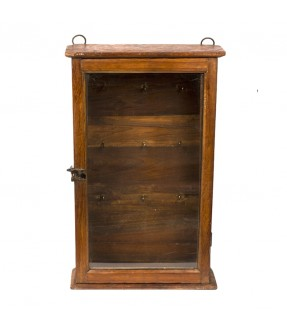 old showcase - teak wood - 16