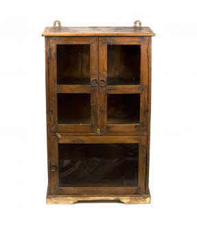 old showcase - teak wood - 17