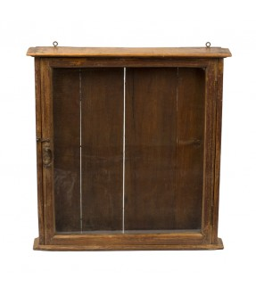 old showcase - teak wood - 18