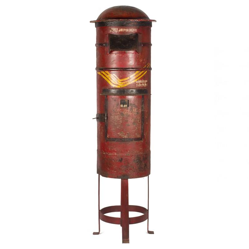 ancienne bo te aux lettres sur pied abl9738 rickshaw. Black Bedroom Furniture Sets. Home Design Ideas