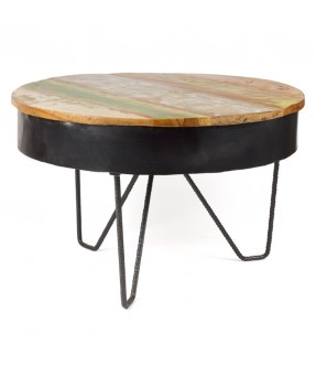 Round table - teak wood