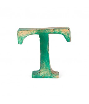 Iron letter T