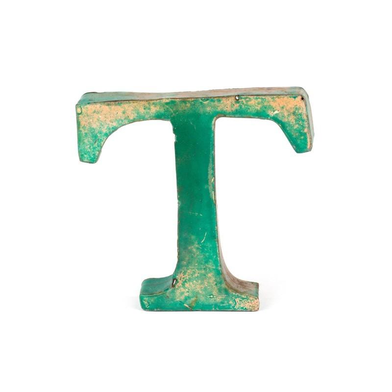 lettre t Iron letter T   Rickshaw lettre t
