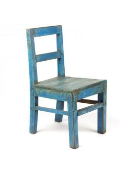 Chaise bleue pm