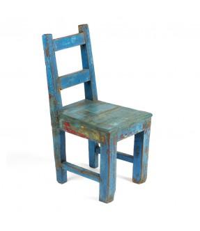 Chaise bleue gm