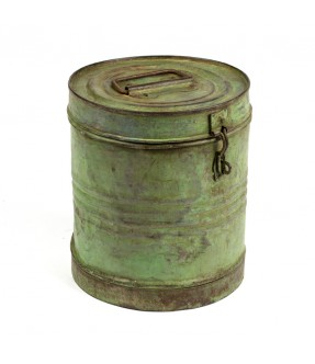 Old iron barrel - 1