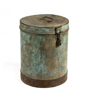 Old iron barrel - 5