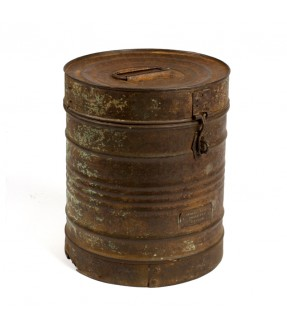 Old iron barrel - 6