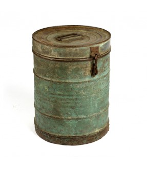 Old iron barrel - 7