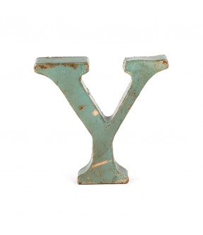 Iron letter Y