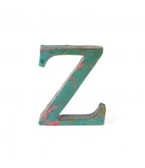 Iron letter Z