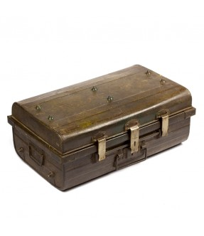 Ancienne valise métal