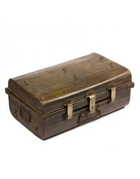 Ancienne valise métal V1