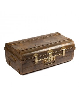 Ancienne valise métal V2