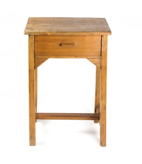 Bed side table - teak wood