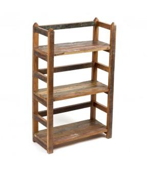 Teak shelf