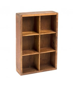 Wall locker teak - 2